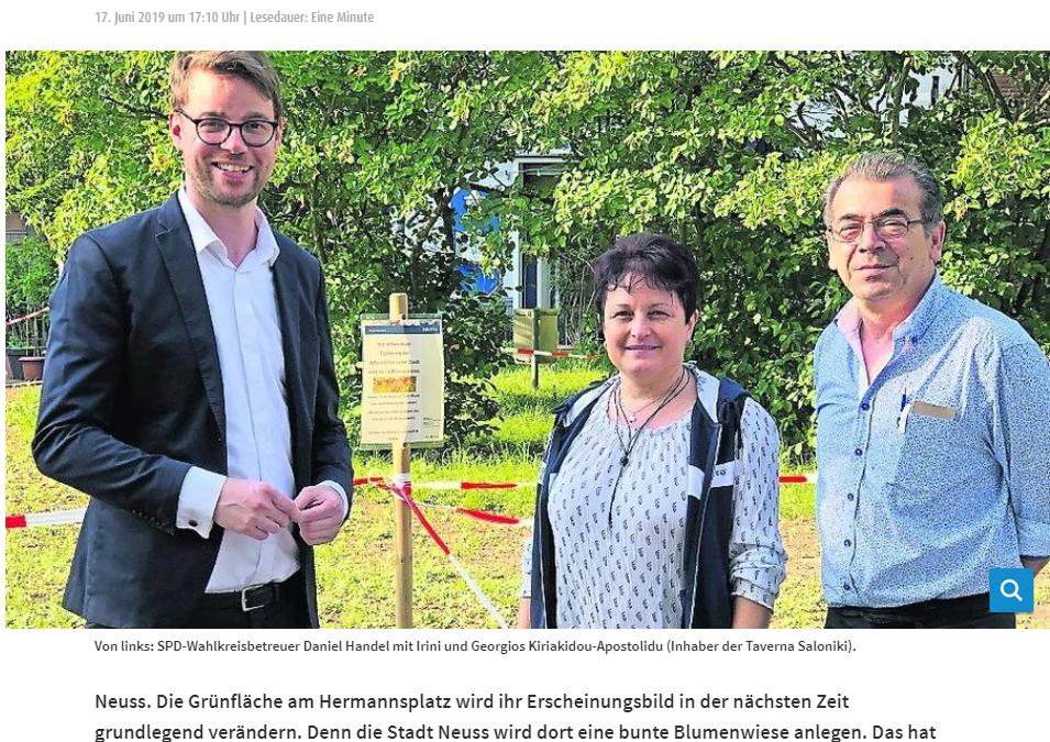 Hermannsplatz blüht auf!